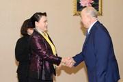 Chủ tịch Quốc hội Nguyễn Thị Kim Ngân gặp lãnh đạo Đảng Kazakhstan