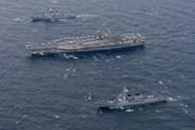Triều Tiên phản đối cuộc tập trận hải quân chung của Hàn Quốc-Mỹ