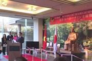 Việt Nam tặng tượng Chủ tịch Hồ Chí Minh cho thành phố Mimasaka