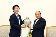 Thủ tướng Nguyễn Xuân Phúc tiếp Cố vấn đặc biệt Thủ tướng Nhật Bản