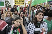 Palestine cáo buộc Israel sử dụng bom khí ga chống người biểu tình