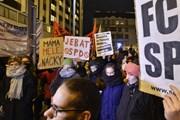 Séc: Biểu tình phản đối chính đảng có quan điểm chống nhập cư