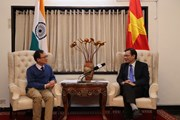 Quan hệ Việt-Ấn chiếm vị trí quan trọng trong quan hệ Ấn Độ với ASEAN