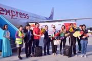 Đà Nẵng đón những vị khách quốc tế 'xông đất' bằng đường hàng không