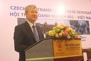 Việt Nam-Séc có nhiều tiềm năng hợp tác về đầu tư, thương mại