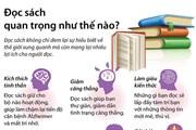 [Infographics] Bạn có biết: Đọc sách còn có lợi cho sức khỏe