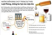 Những điểm đáng chú ý trong dự thảo Luật Phòng, chống tác hại của rượu