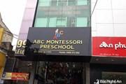 Nghệ An: Tạm đình chỉ giáo viên đánh học sinh ở mầm non tư thục ABC