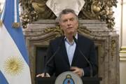 Uy tín của Tổng thống Argentina sụt giảm sau biến động về tài chính