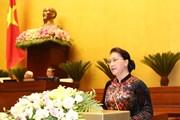Những hình ảnh về khai mạc Kỳ họp thứ năm, Quốc hội khóa XIV