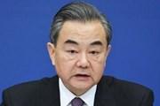Bộ trưởng Ngoại giao Trung Quốc Vương Nghị sắp thăm Mỹ