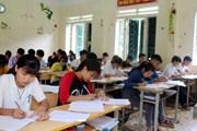 Lần đầu Trường Dân tộc nội trú Mường Tè tổ chức kỳ thi THPT quốc gia