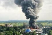 Đám cháy lớn bùng lên ở khu vui chơi giải trí lớn nhất nước Đức