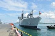 Ấn Độ đưa hai tàu chiến hiện đại tới thăm Indonesia
