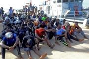 Hải quân Libya cứu hơn 700 người di cư trên Địa Trung Hải