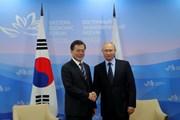 Nga-Hàn Quốc cam kết nỗ lực xúc tiến đàm phán FTA, thúc đẩy hợp tác