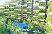Tòa nhà có vườn treo độc đáo và lớn nhất tại Việt Nam