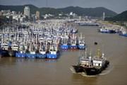 Bão Ampil đổ bộ Thượng Hải, hơn 600 chuyến bay phải hủy bỏ