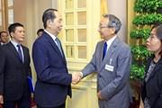 Chủ tịch nước Trần Đại Quang tiếp đoàn Ủy ban Kinh tế Nhật-Việt