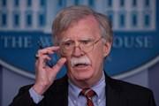 Cố vấn an ninh quốc gia Mỹ John Bolton sắp gặp các quan chức Nga
