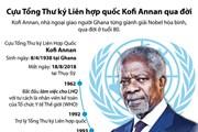 [Infographics] Cựu Tổng Thư ký Liên Hợp Quốc Kofi Annan qua đời
