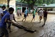 Huy động lực lượng, tích cực giúp đỡ dân khắc phục hậu quả mưa lũ