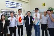 Gặp thí sinh Việt Nam giành Huy chương Đồng Kỳ thi Tay nghề Thế giới