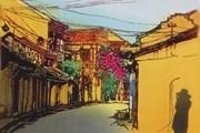 Việt Nam đa sắc và sâu lắng qua góc nhìn của họa sỹ Nhật Bản
