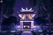 'Lung linh sao Khuê': Vẻ đẹp của Văn Miếu-Quốc Tử Giám trong đêm