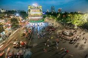 Bốn 'nữ tướng' dàn dựng lễ hội đường phố tại phố đi bộ Hồ Gươm