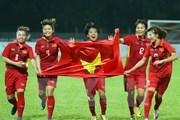 Nhìn lại thành tích tuyệt vời của đội tuyển bóng đá nữ Việt Nam