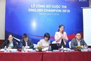 Cuộc thi English Champion 2018 có tổng giải thưởng 50 tỷ đồng