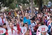 Hơn 1.200 học sinh tiểu học Hà Nội tranh tài thi tiếng Anh
