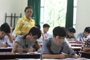 Lịch thi chi tiết kỳ thi Trung học phổ thông quốc gia 2018
