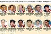 [Timeline] Toàn cảnh vụ xét xử Trịnh Xuân Thanh và các đồng phạm