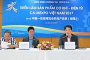 CA-MEXPO: Thúc đẩy hợp tác về công nghệ giữa Việt Nam-Trung Quốc
