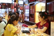 Giá vàng trong nước bật tăng trong phiên mở cửa ngày cuối tuần