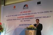 """""""EU-Mutrap là một điển hình về hợp tác hiệu quả giữa Việt Nam-EU"""""""