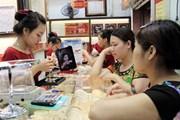 Nhiều doanh nghiệp nâng giá vàng miếng sau kỳ nghỉ Tết Nguyên đán