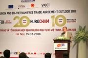 Sách trắng Eurocham: EVFTA sẽ tạo lực đẩy khổng lồ cho Việt Nam và EU