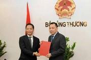 Trao quyết định Thứ trưởng Bộ Công Thương cho ông Đặng Hoàng An