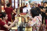 Tăng mạnh, vàng Rồng Thăng Long lên ngưỡng 34,93 triệu đồng mỗi lượng