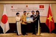 Đại sứ quán Việt Nam ở Nhật tổ chức hòa nhạc, trao tiền hỗ trợ Hà Tĩnh