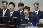Cơ quan công tố xin gia hạn thời gian tạm giữ bà Park Geun-hye