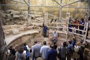 Dấu tích nhà hát thời La Mã dưới chân Bức tường Than khóc