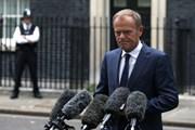 Chủ tịch EC: Không có đột phá tại Hội nghị thượng đỉnh EU về Brexit