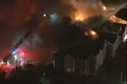 Hỏa hoạn tại một trụ sở cảnh sát Pháp gây thiệt hại hàng triệu euro