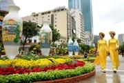 Đường hoa Tết Mậu Tuất tại Thành phố Hồ Chí Minh bắt đầu từ 13/2