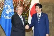 LHQ và Nhật Bản nhấn mạnh thực thi nghị quyết trừng phạt Triều Tiên
