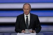 Hơn 1.600 người dự cuộc họp báo lớn thường niên của Tổng thống Putin